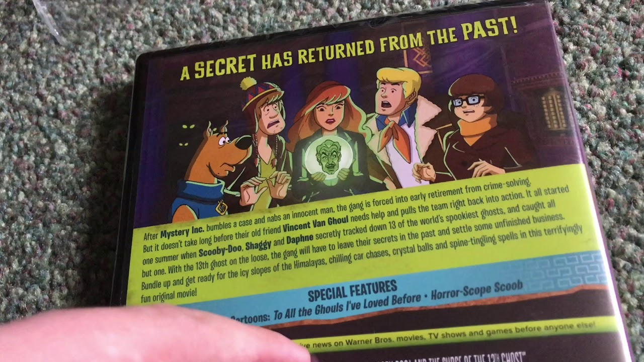 Johnny English Strikes again and New Scooby Doo Movies DVD Unboxing