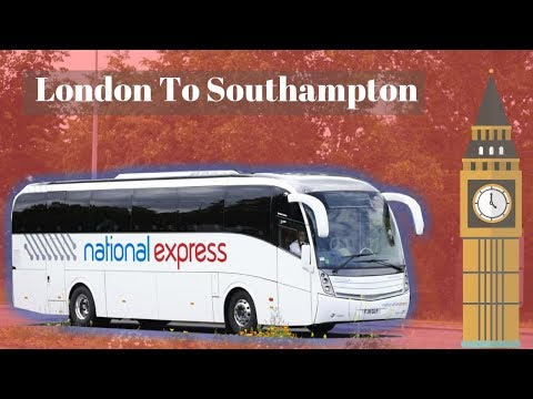 London To Southampton Cruise Terminal - National Express Bus Coach