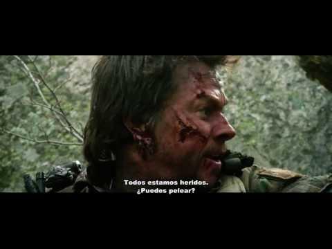 El Sobreviviente Trailer Oficial Subtitulado (2014) Lone Survivor papeles de mark wahlberg