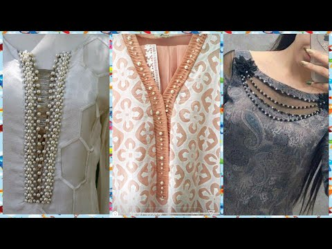 NEW Creative Neck designs For Kameez & Blouses 2019