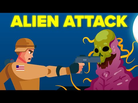 US Soldiers Attacked By Aliens In North Korea