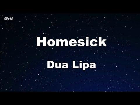 Homesick - Dua Lipa Karaoke 【No Guide Melody】 Instrumental
