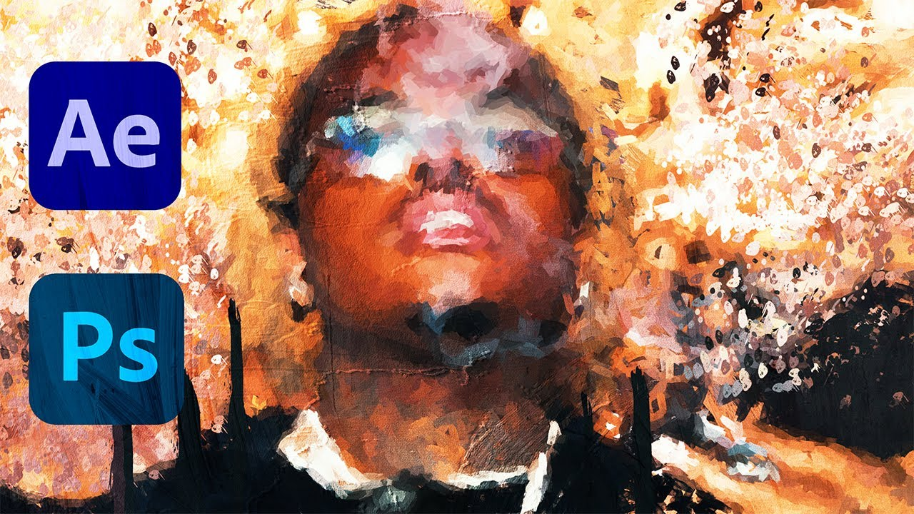 Transform Footage to Oil Painting Freeze Frame / TRANSITION! Gunna x Yung Thug Dollaz on My Head