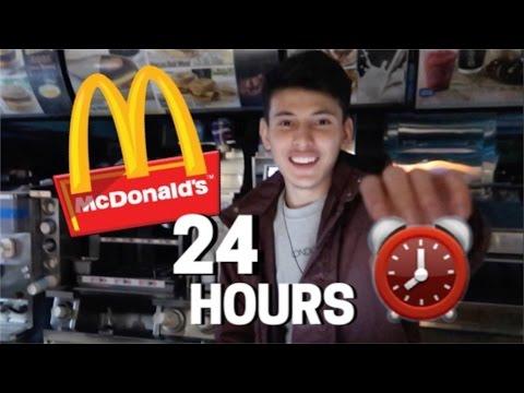 24 HOUR MCDONALD'S FORT!