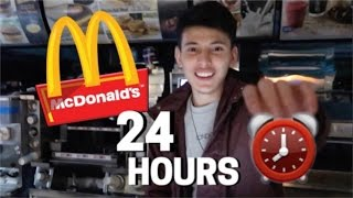 24 HOUR OVERNIGHT In McDonald's Fort!