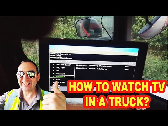 PERFECT SET UP FOR TRUCK TV - BRITISH TRUCKING