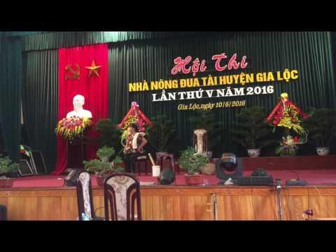 Điếc không sợ súng. Tiểu phẩm đoạt giải Nhì hội thi Nhà nông đua tài huyện Gia Lộc 2016.