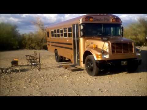 Simple Life Bus...goldpoint NV to quartzite AZ