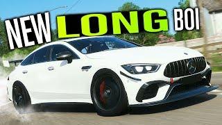 Mercedes AMG GT 4-Door LONG BOI in Forza Horizon 4!