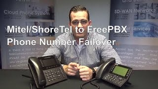 Mitel, ShoreTel, FreePBX SIP Trunk Failover