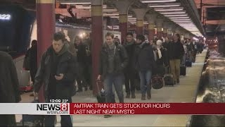 Weather stalls Boston-bound Amtrak passengers in Connecticut