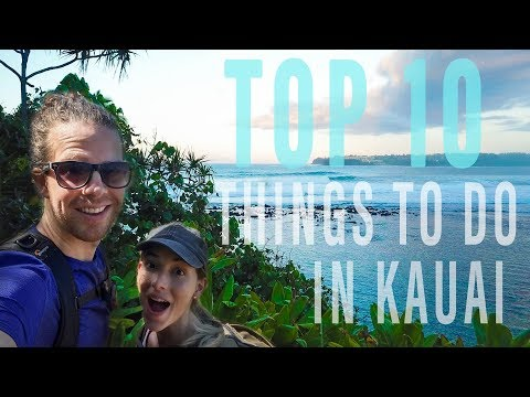 Favorite Parts of Hawaii! | Top 10 Things To Do In Kauai