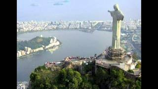 Christ The Redeemer - Statue Of Jesus Christ In Rio De Janeiro, Brazil