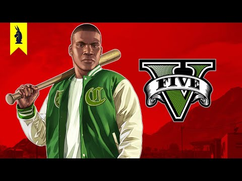 The Satire of GTA V (Grand Theft Auto V) – Wisecrack Edition
