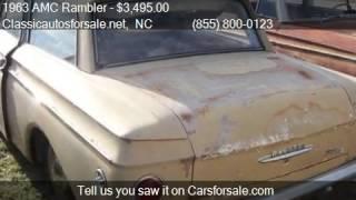 1963 AMC Rambler  for sale in Nationwide, NC 27603 at Classi #VNclassics