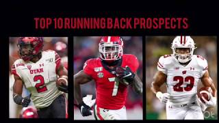 Top 2020 Running Back draft prospects from 1-10
