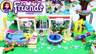Lego Kids Backyard finished! Sophie & Henry