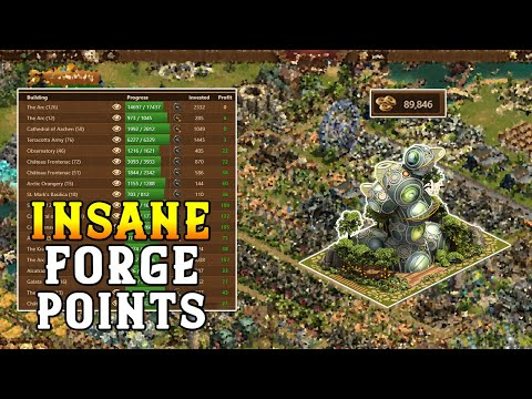 How to make a ton of Forge Points in Forge of Empires - FP Investment Tips and Strategies
