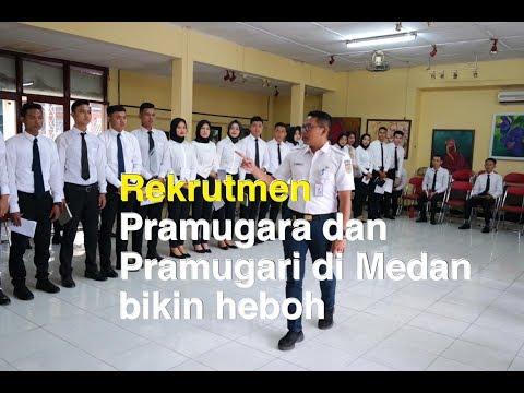 REKRUTMEN PRAMUGARA-PRAMUGARI KERETA API DI MEDAN BIKIN HEBOH....!!!