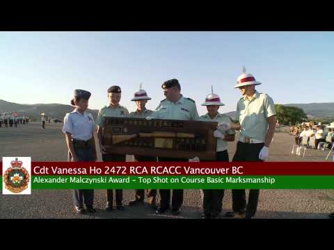 VACSTC Final Parade & Sunset Ceremony 16 Aug 2012