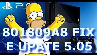 PS4: ERRO E-801809A8 TUTORIAL FIX DEFINITIVO FINALMENTE!