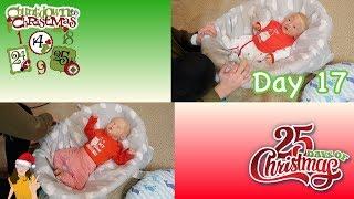 Reborn Countdown to Christmas! Changing Babies Shane & Nolan - Day 17 | Kelli Maple