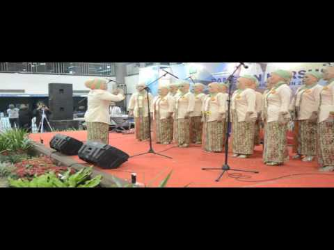 Mars Hari Kompetensi Nasional  Paduan Suara Kabupaten Subang Juara Pertama