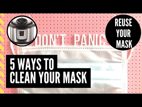 5-ways-to-clean-reuse-your-mask-|-coronavirus-|-covid-19