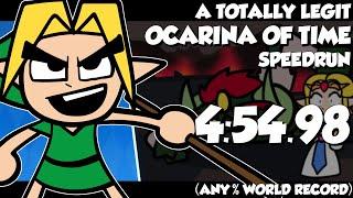 A Totally Legit Ocarina of Time speedrun (ANY% WORLD RECORD, SUB 6 MIN)