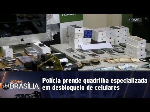 Polícia prende quadrilha especializada em desbloqueio de celulares