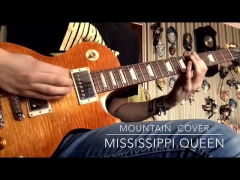"""Mountain- """"Mississippi Queen"""" Guitar Cover"""