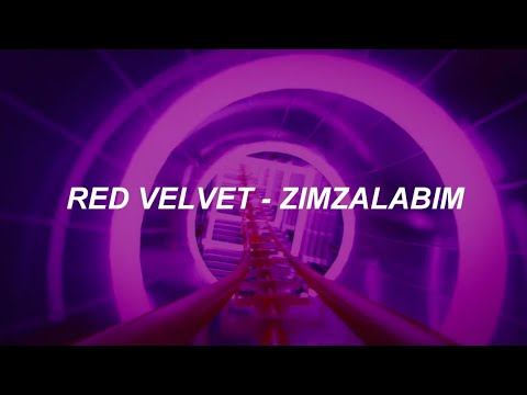 Red Velvet (레드벨벳) – 'Zimzalabim (짐살라빔)' Easy Lyrics