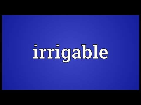 Header of irrigable