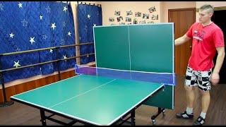 видео настольный теннис столы