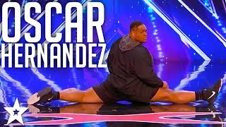 Oscar Hernandez Breaks It Down On America's Got Talent With Killer Dance Moves!!