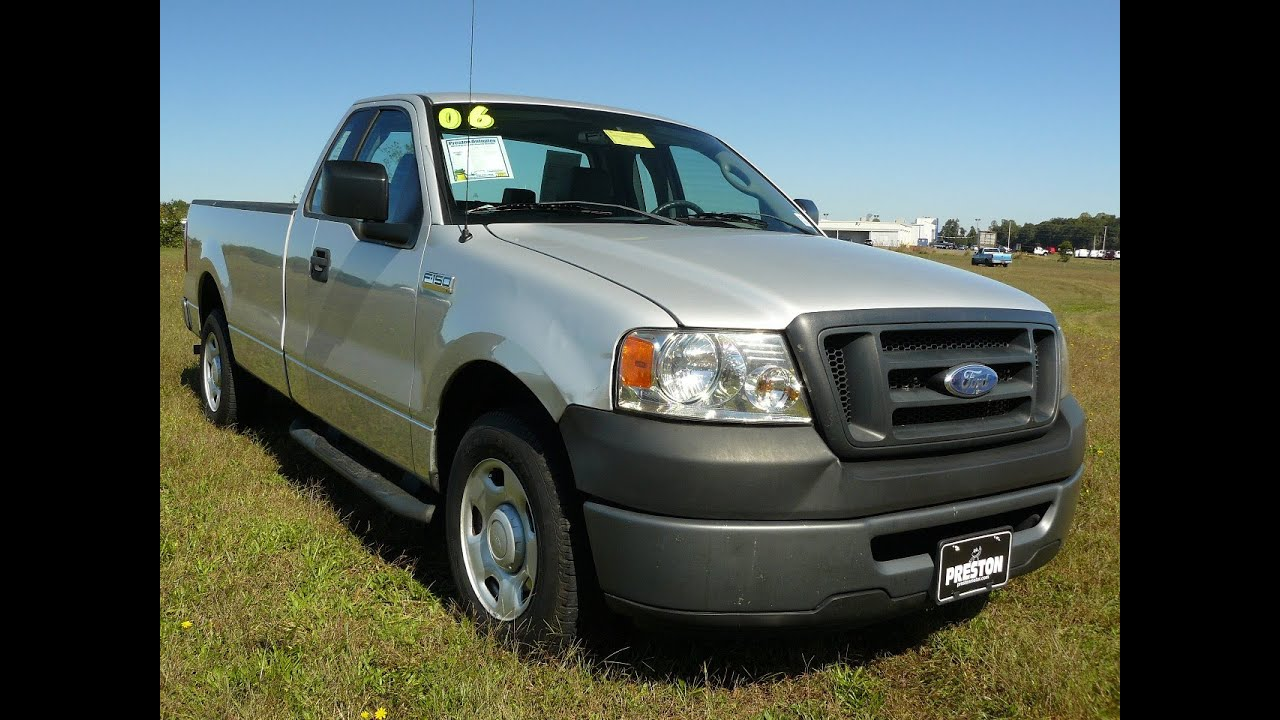 Maryland used car sale 2006 ford f150 xl v6