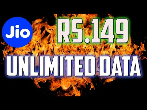 Thumbnail: Now Jio Is Offering Unlimited DATA & CALLS in Rs. 149 Only
