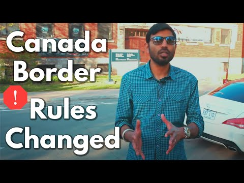 Canada Immigration 2020 : Rules Changed For Study Permit , Work Permit , PR On Border