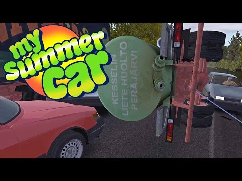 CAUSING THE WORST HIGHWAY CRASH EVER, Final Junk Car Sold! - My Summer Car Gameplay Highlights Ep 22