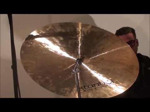 """Steve Maxwell Vintage Drums - Istanbul 22"""" Agop Mel Lewis Ride Cymbal 2315g"""