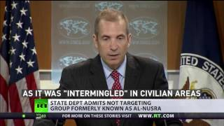 US admits not targeting Nusra, fails to separate 'moderates' from terrorists