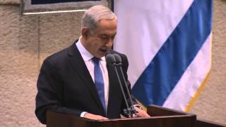 PM Netanyahu's Speech at Start of the Knesset Winter Session