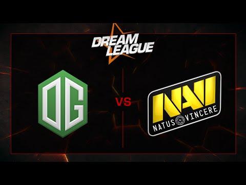 OG vs Na'Vi - Playoffs Final - DreamLeague S5 - G2