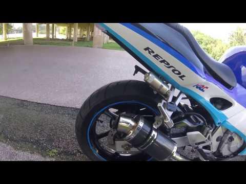 1998 Honda CBR 600 F3 exhaust sound and walk around
