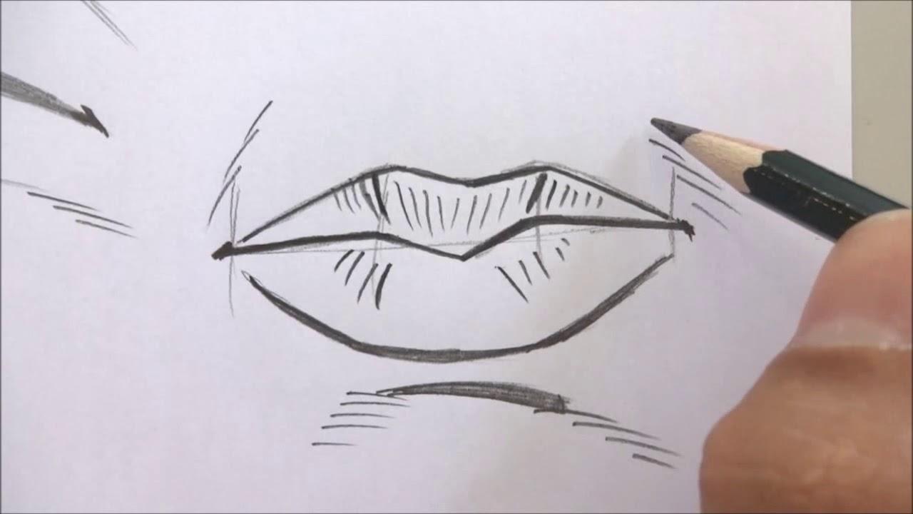 Como Desenhar Boca Masculina Youtube