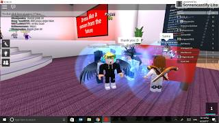 I MET BLEUS ON ROBLOX: O:O: O:O:!??!?!