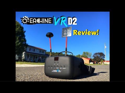 Многофункционални FPV очила с регулируем DVR обектив Eachine VR D2 Pro 12