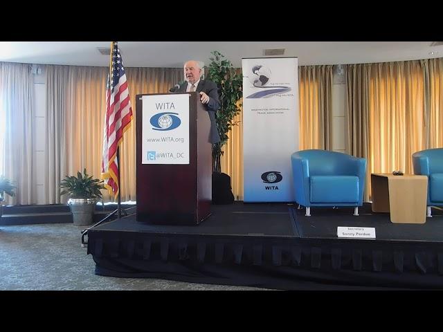 10/4/17 -  US Agriculture Trade Agenda: Secretary Sonny Perdue pt. 1