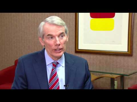 FULL INTERVIEW: Senator Rob Portman (R) on President-elect Trump