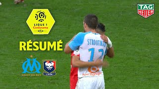 Olympique de Marseille - SM Caen ( 2-0 ) - Résumé - (OM - SMC) / 2018-19